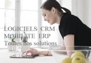 Solutions Logicielles ERP CRM MOBILITE